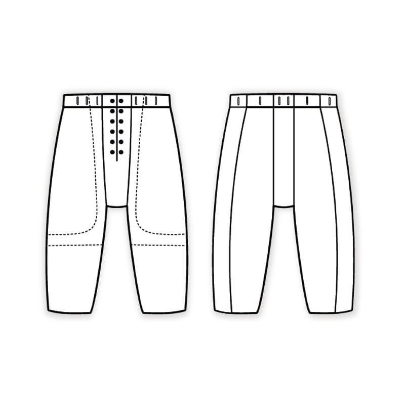 americky-fotbal-kalhoty-STORM-blind