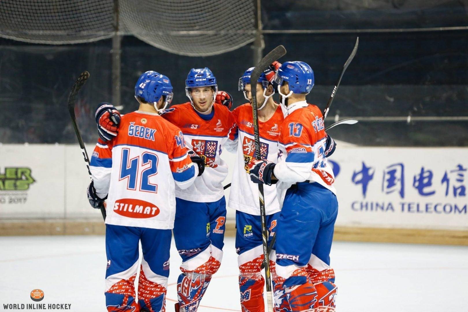 Česká reprezentace foto4 World Inline Hockey archiv
