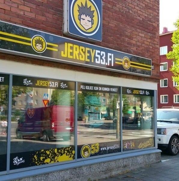 FIN Jersey53 původní obchod foto archiv Jersey53