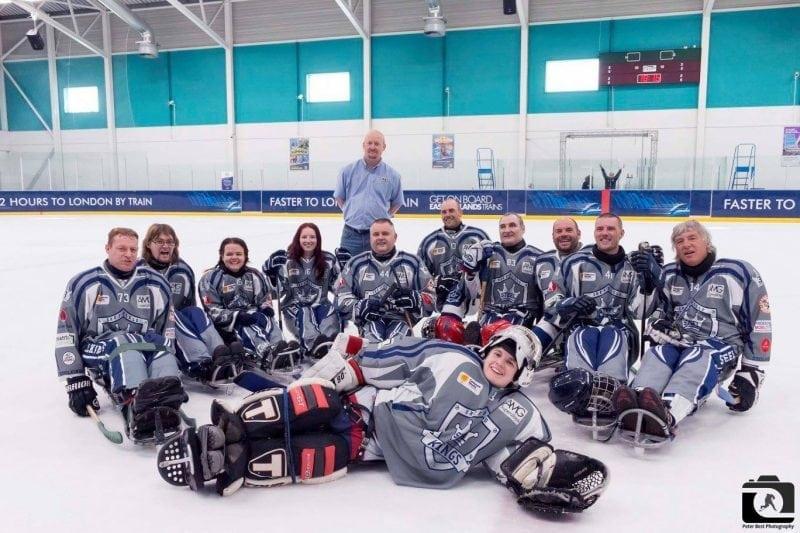 Sheffield Steelkings para ice hockey foto fb Peter Best Photography