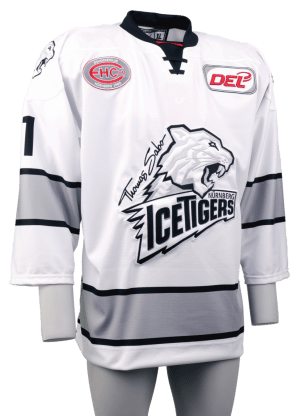white dres Ice Tigers archiv foto Jersey53